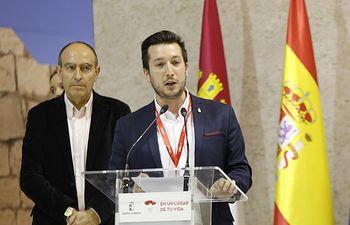 Moises López, alcalde de Caudete - Fitur 2019. Foto: Diputación de Albacete.