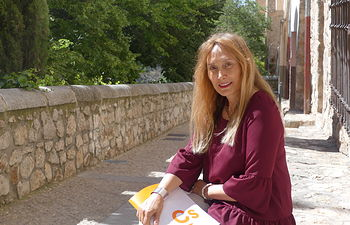 María Jesús Amores,  portavoz Ciudadanos Cuenca.