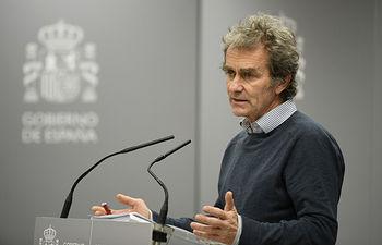 Fernando Simón, director del Centro de Coordinación de Alertas y Emergencias Sanitarias. Foto: Europa Press 2020.