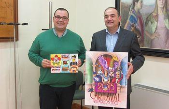El castellonense de la localidad de Burriana, Juan Diego Ingelmo Benavente, se ha alzado con el primer premio del Concurso del Cartel Anunciador de los Carnavales 2015 de Villarrobledo