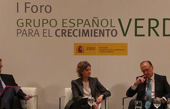 Garcia Tejerina clausura Grupo Español Crecimiento Verde. Foto: Ministerio de Agricultura, Alimentación y Medio Ambiente