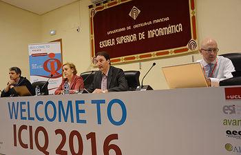 Inauguración de la 21ª Conferencia Internacional sobre la Calidad de la Información.