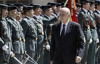 Jorge Fernández asiste al 170º aniversario de la fundación de la Guardia Civil (Foto EFE)