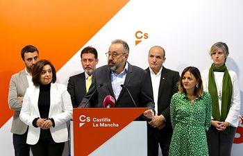 Presentación candidatura de la formación naranja para el Congreso de los Diputados y al Senado por Toledo.