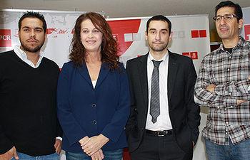 Fotografía de Sorbino, Antonelli, D'Urgel y Caballero