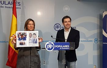 Ana Guarinos y Lorenzo Robisco.