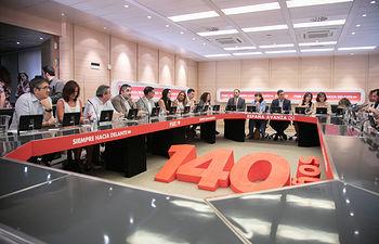 Reunión de la Comisión Permanente de la Ejecutiva Federal. Foto: EVA ERCOLANESE