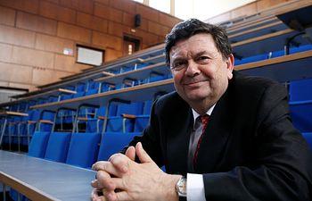 Manuel López, presidente de Crue Universidades Españolas. Imagen: aragonuniversidad.es