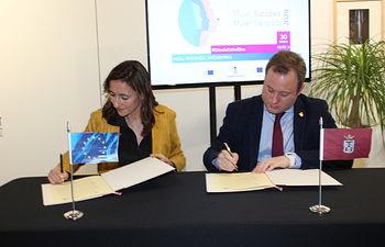 El Ayuntamiento de Albacete es ya el primer consistorio en unirse al compromiso del Parlamento Europeo #DóndeEstánEllas.
