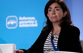 La secretaria de Educación e Igualdad del Partido Popular, Sandra Moneo