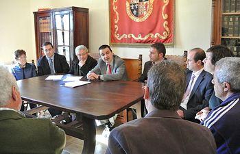 La primera inversión del Gobierno regional en regadíos culminará la obra paralizada durante cuatro años en Cogolludo. Foto: JCCM.