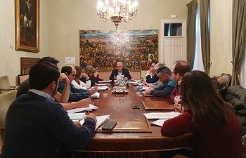 Junta de Gobierno Diputación de Guadalajara diciembre 2019.
