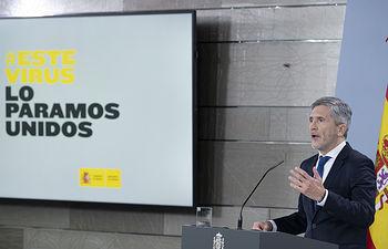 Fernando Grande-Marlaska, ministro del Interior .Pool Moncloa/Borja Puig de la Bellacasa