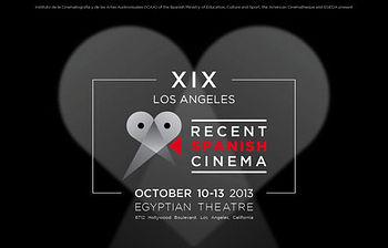 Cartel Los Ángeles Recent Spanish Cinema (Foto Ministerio de Educación, Cultura y Deporte)