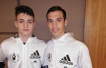 Álex Muñoz y Jordi Martínez.