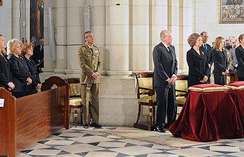Funeral por el décimo aniversario del 11M en la Almudena (Foro Parlamentario de DDHH)