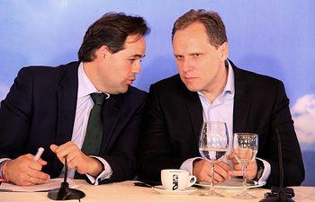 Daniel Lacalle y Paco Núñez.