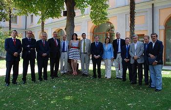 La reunión tuvo lugar en el edificio de Sabatini, en el Campus Tecnológico de la Fábrica de Armas.