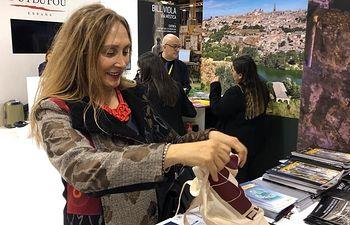 María Jesús Amores en FITUR 2019
