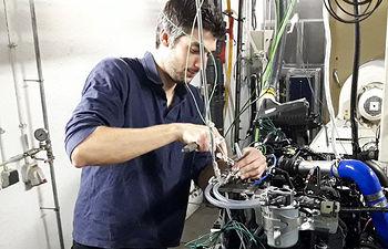 Laboratorio de máquinas y motores de la UCLM.
