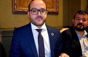 Fran Valera, portavoz del Grupo Socialista.