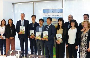 La Entidad Estatal de Seguros Agrarios recibe a una delegación de Corea del Sur interesada en conocer el funcionamiento de los seguros españoles para la acuicultura. Foto: Ministerio de Agricultura, Alimentación y Medio Ambiente