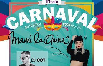 Fiesta de Carnaval juvenil 2020.