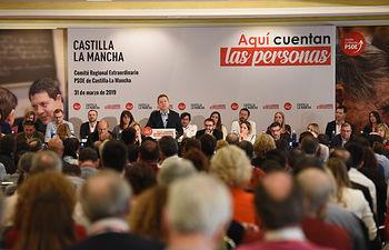 Reunión en Toledo del Comité regional del PSOE de Castilla-La Mancha ( FOTOS: José Ramón Márquez Rodríguez/PSOE)