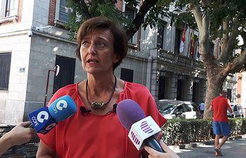 Ana González, senadora.