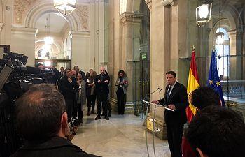 Luis Planas, ministro de Agricultura, Pesca y Alimentación, tras reunirse con las CCAA.
