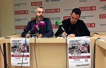 Alberto Sánchez y José Luis Arroyo.