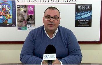 El Concejal de Cultura, Bernardo Ortega.