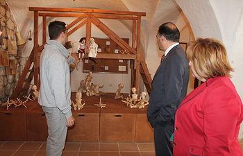 El delegado del Gobierno en Castilla-La Mancha, José Julián Gregorio, en una visita a El Toboso (Toledo).