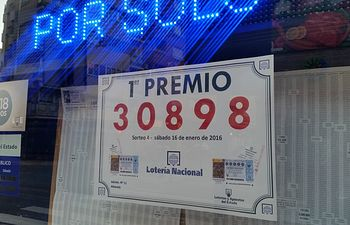 El primer premio de la Lotería Nacional, vendido en Albacete