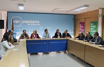 Reunión del comité de Dirección.