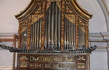 Órgano de la Iglesia de Santa Catalina- El Bonillo. Foto: culturalalbacete.com