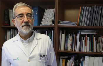 El jefe de Nefrología del Hospital de Guadalajara, Gabriel de Arriba, nuevo vicepresidente de la Sociedad Española de esta especialidad.