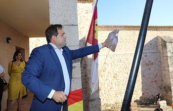 Paco Núñez da el pistoletazo de salida en las fiestas patronales del municipio de Escariche en Guadalajara.