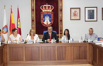 Pleno del Ayuntamiento de La Roda