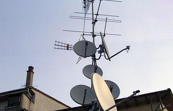 Antena de TV (foto archivo EFE)