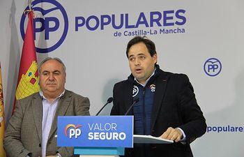 Paco Núñez y Vicente Tirado.