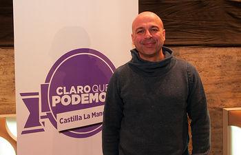 José García Molina, candidato a Secretario General de Podemos Castilla-La Mancha.