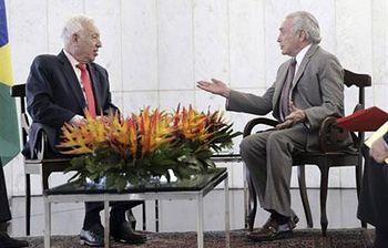 García-Margallo, en Brasil. Foto: EFE.