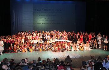 'Los Guachis' del Área Integrada de Albacete vuelven a arrasar con su espectáculo musical