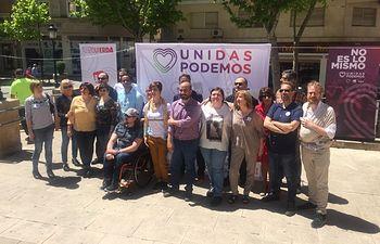Presentación de la candidatura de Unidas Podemos.