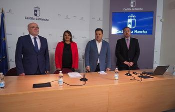 Renovación del convenio de 600 viviendas de la Junta de Comunidades con el Ayuntamiento de Albacete.