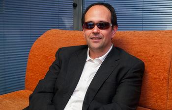José Martínez, presidente del Consejo Territorial de la ONCE en Castilla-La Mancha.