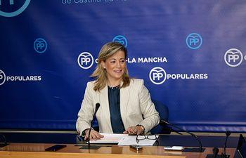 Lola Merino, diputada regional del Grupo Parlamentario Popular en las Cortes de Castilla-La Mancha. Foto: PP CLM.