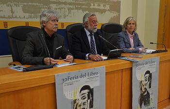 Presentación de  la XXXII Feria del Libro de Talavera.