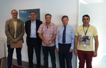 Alejandro Inurrieta, Alfredo Martínez, Ángel León, José Álvarez y Jesús Domingo Delicado
